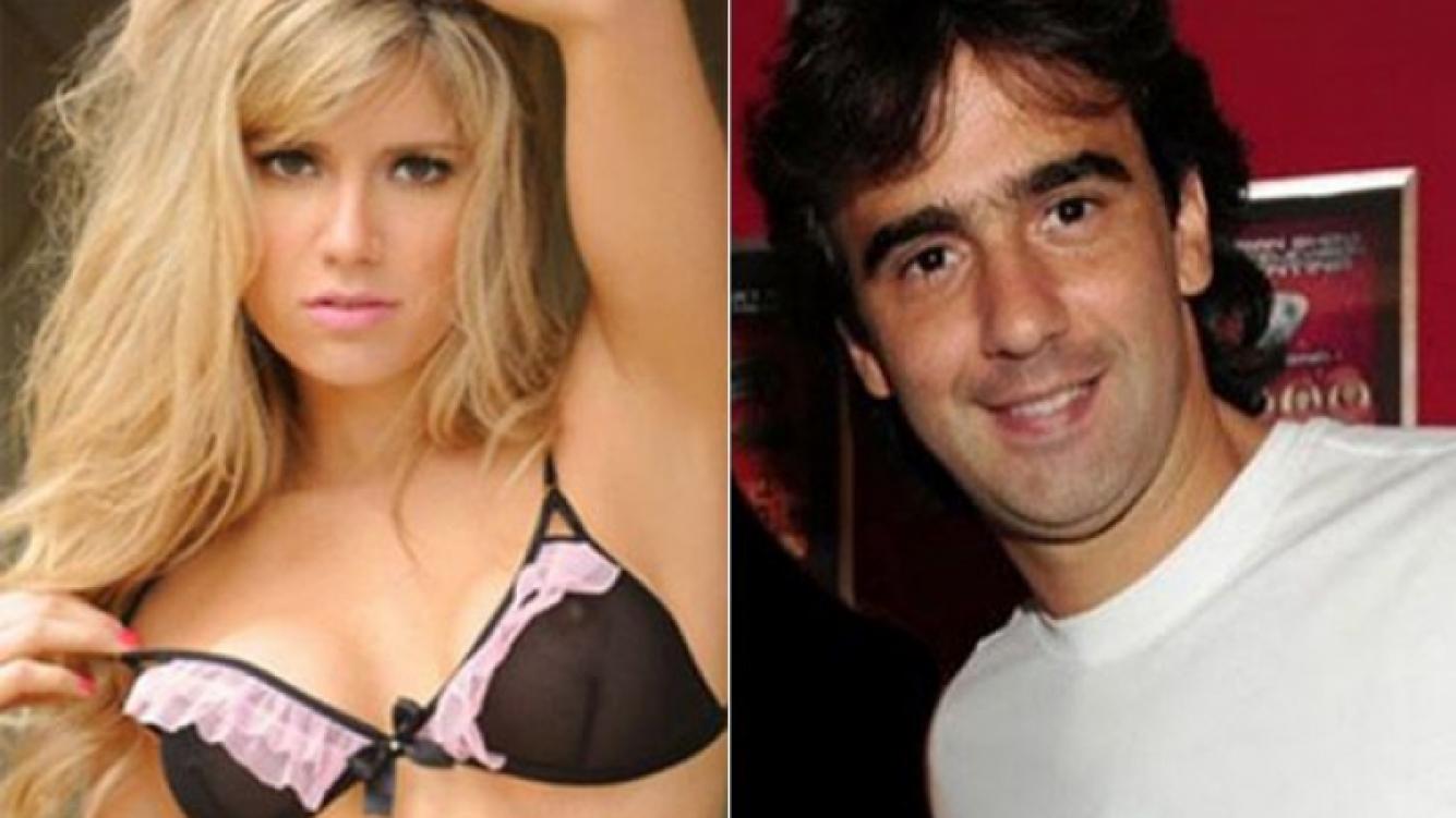 Laurita Fernández y Federico Hoppe, juntos. (Fotos: Ciudad.com y Web)