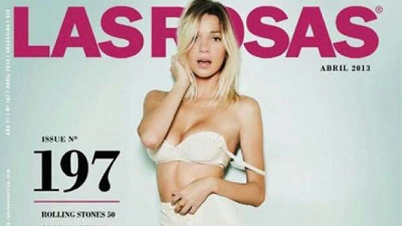 Micaela Breque en la portada de Las Rosas. (Foto: web)