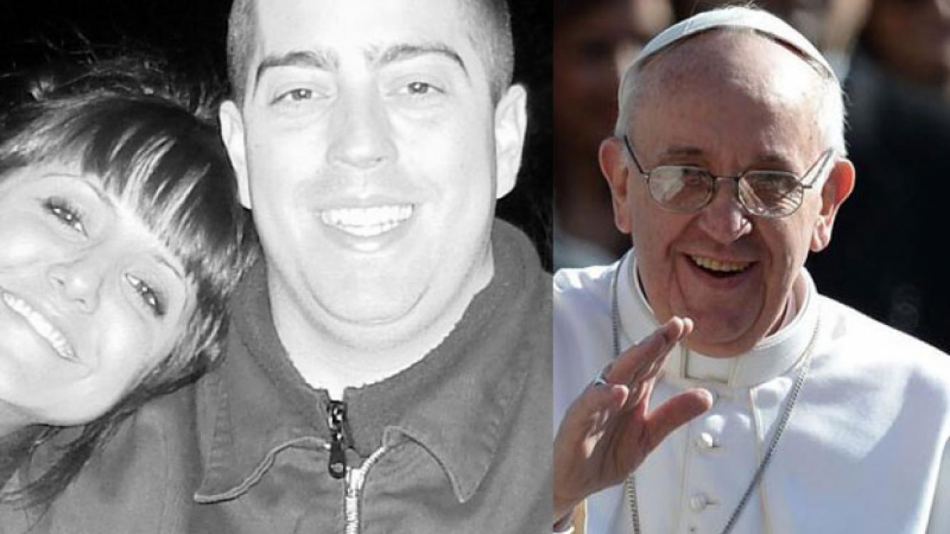 Patricio Fontanet recibió un regalo del papa Francisco. (Foto: Web)