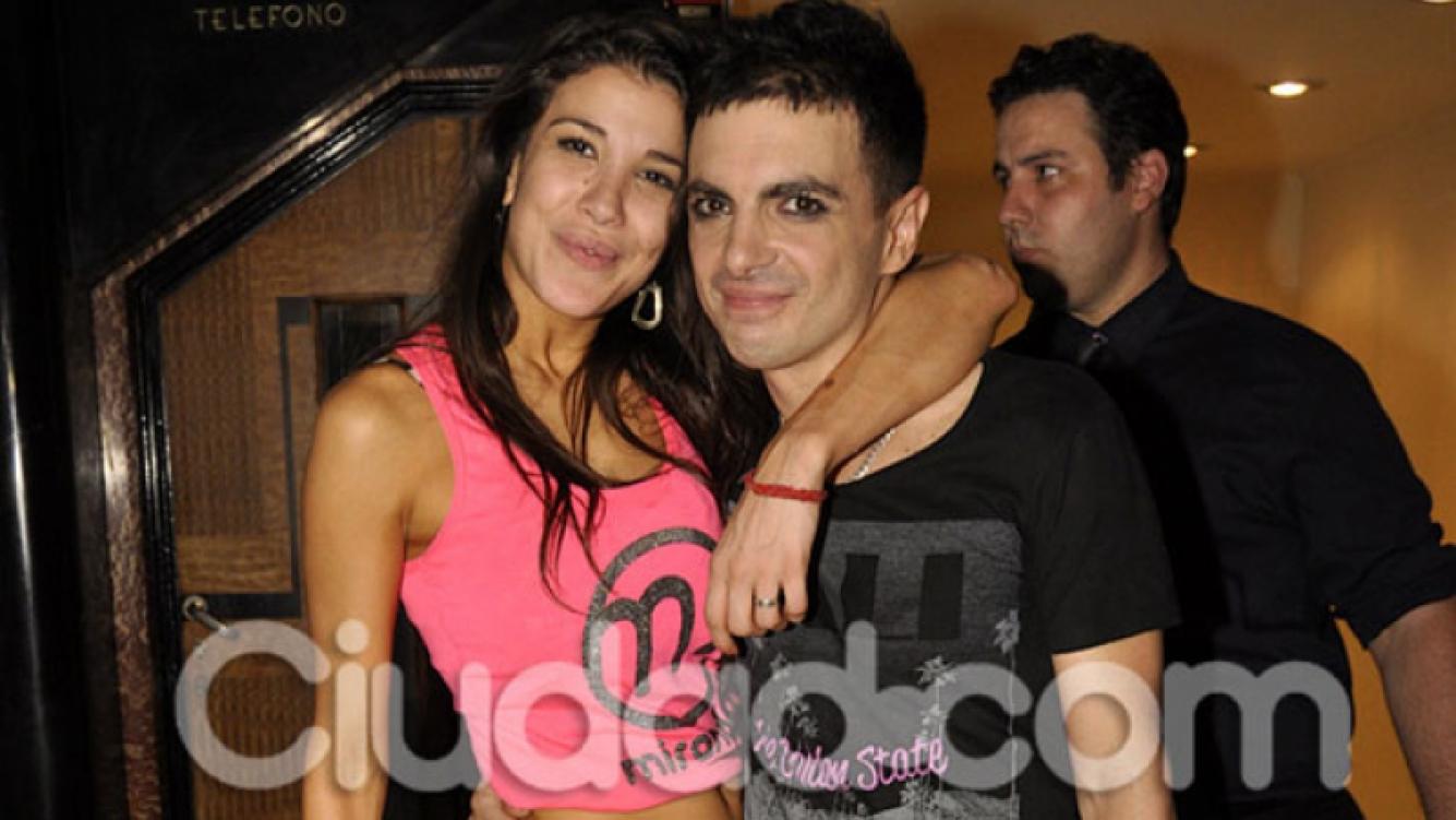 Andrea Rincón y Ale Sergi volvieron a estar juntos. (Foto: Ciudad.com)
