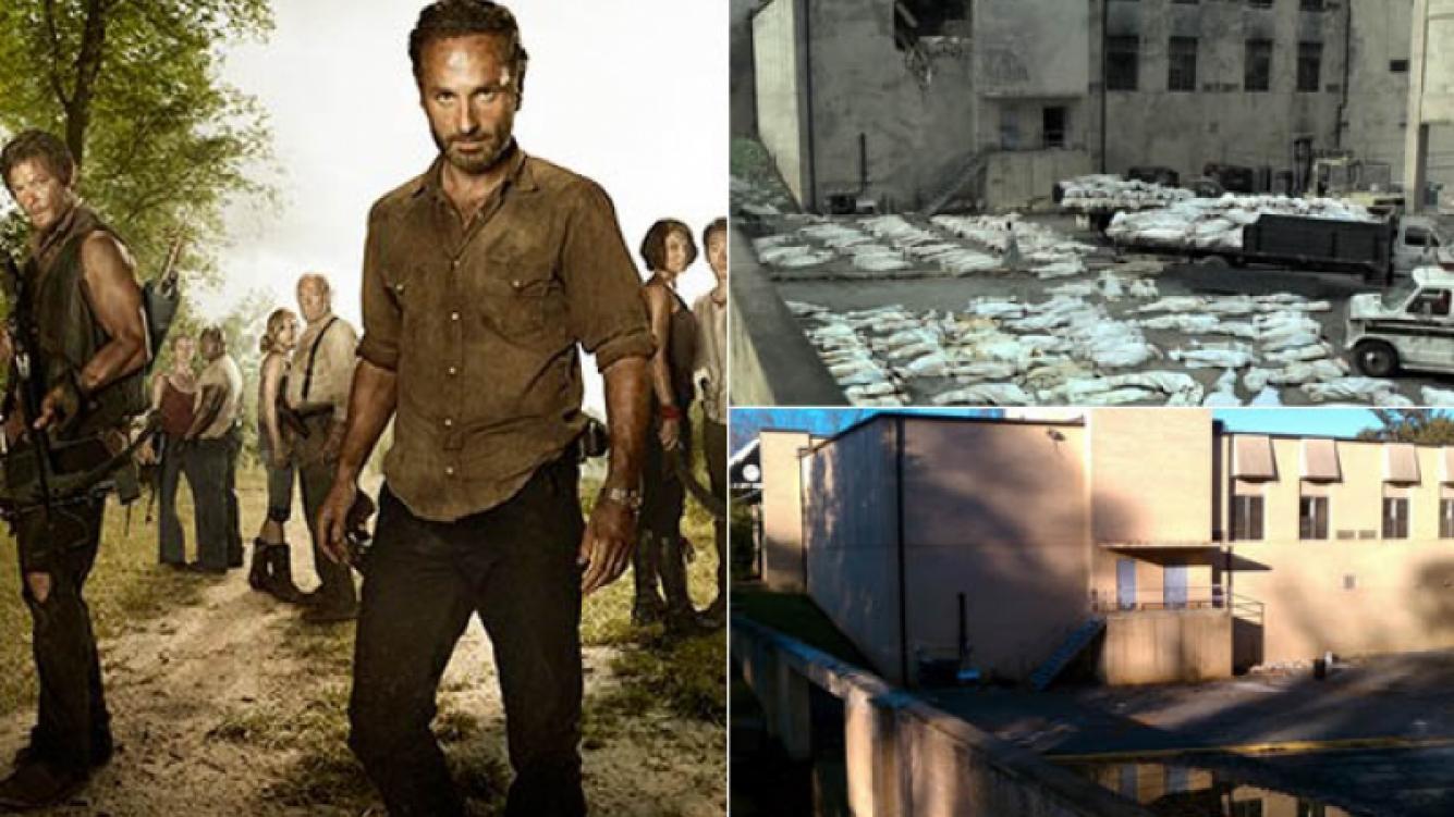 The Walking Dead reactivó Senoia, la ciudad donde se graba la serie.
