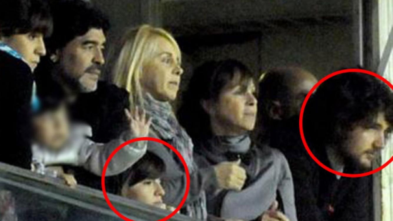 Junio de 2011: la familia completa, más Caldarelli. (Foto: Canchallena.com)
