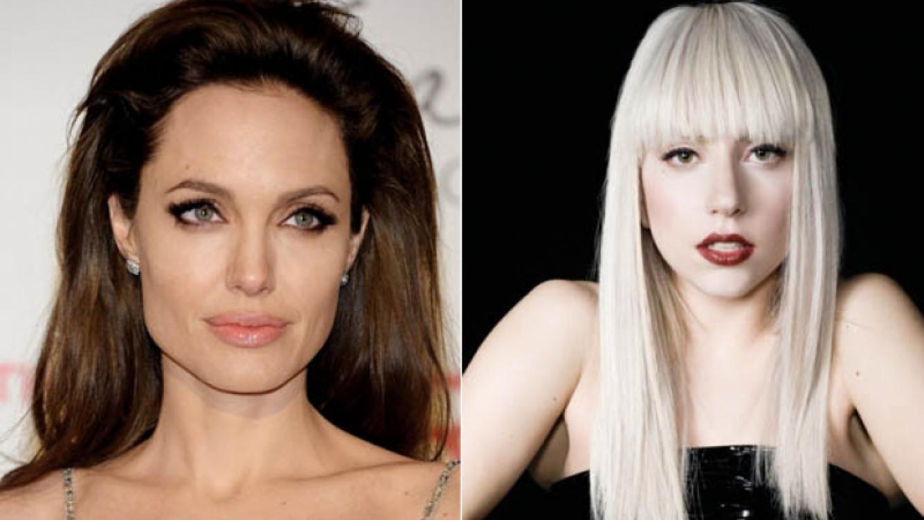 Angelina Jolie y Lady Gaga, víctimas de hackers cibernéticos. (Foto: archivo Web)
