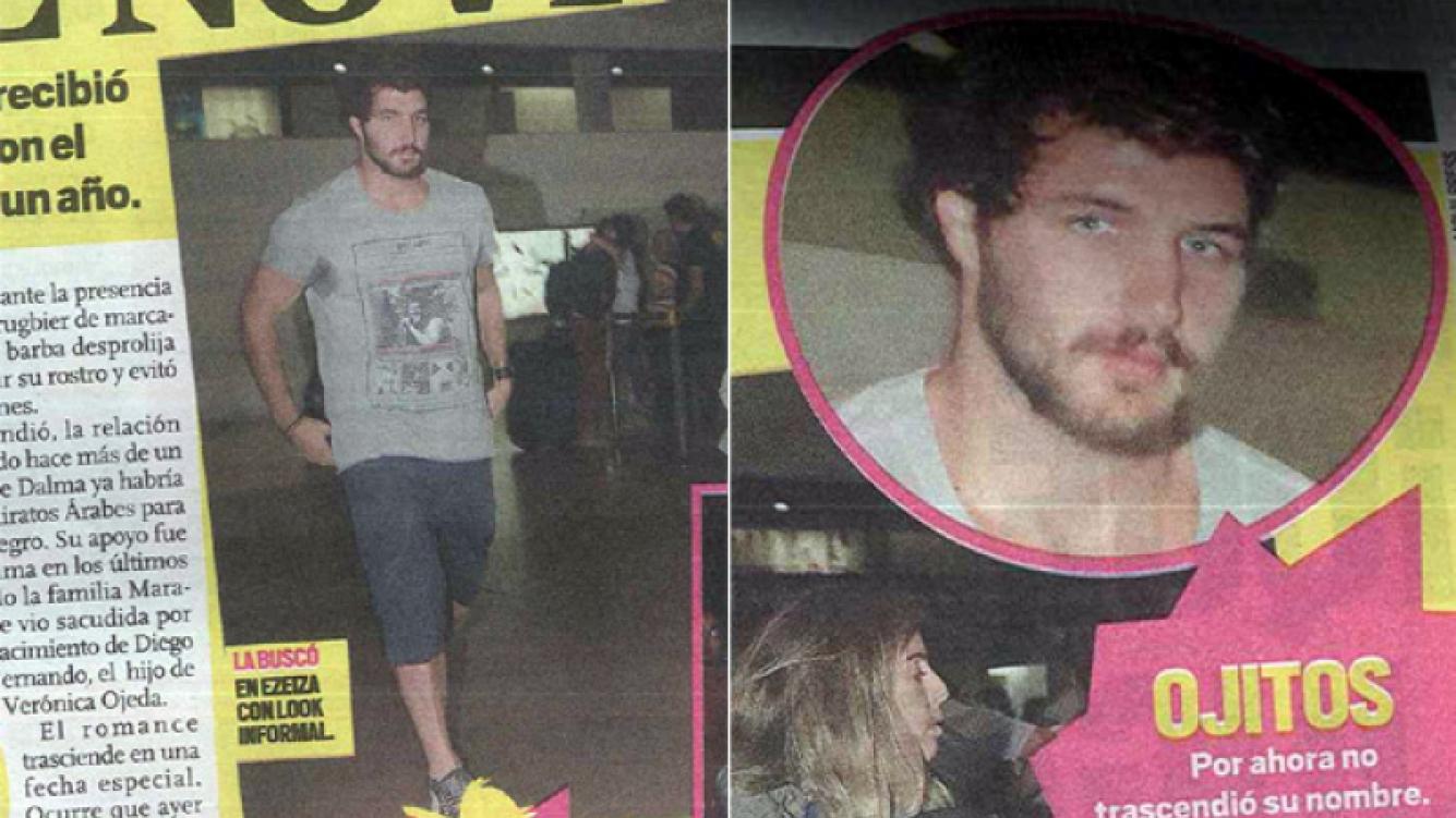 El joven que fue a buscar a Dalma Maradona. (Foto: diario Muy)