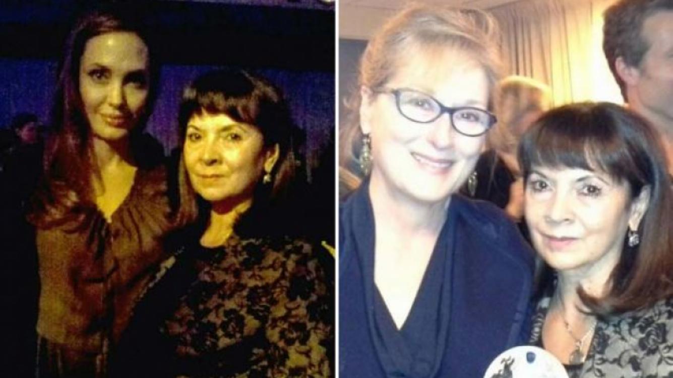 Angelina Jolie y Meryl Streep felicitaron a Susana Trimarco. (Foto: @SusanaTrimarco)