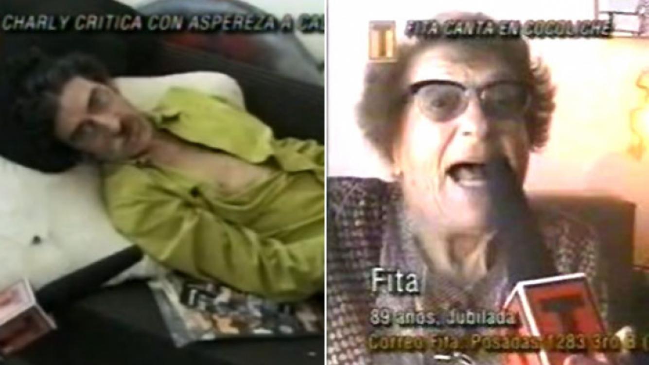 Televisión Abierta, en sus comienzos: desde un Charly García pegándole a Calamaro, a una Fita superstar.