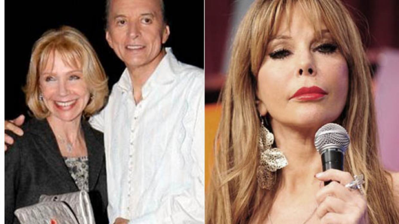 Evangelina Salazar y Palito Ortega le inician acciones legales a Graciela Alfano. (Foto: archivo Web)
