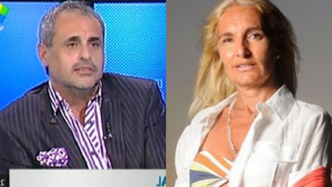 Jorge Rial, lapidario con Silvia D  Auro (Foto: Web).