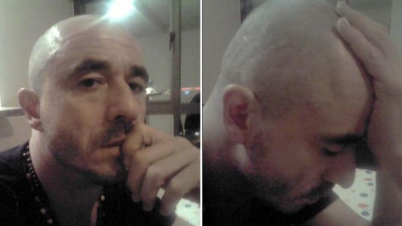 Pablo Granados, renovado, se afeitó la cabeza. (Foto: @pablo_granados)