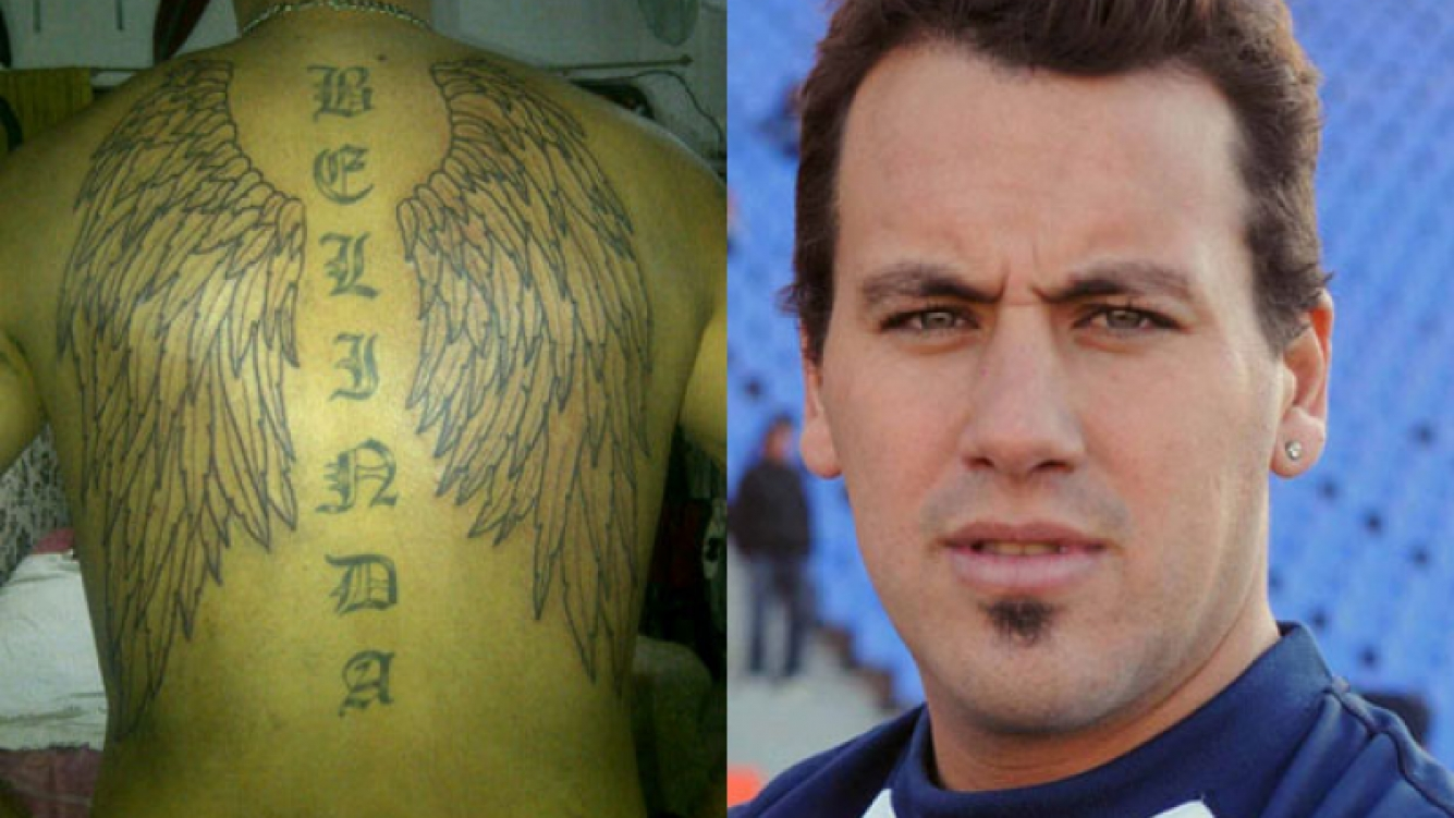El nuevo tatuaje del Ogro Fabbiani. (Foto: Twitter)