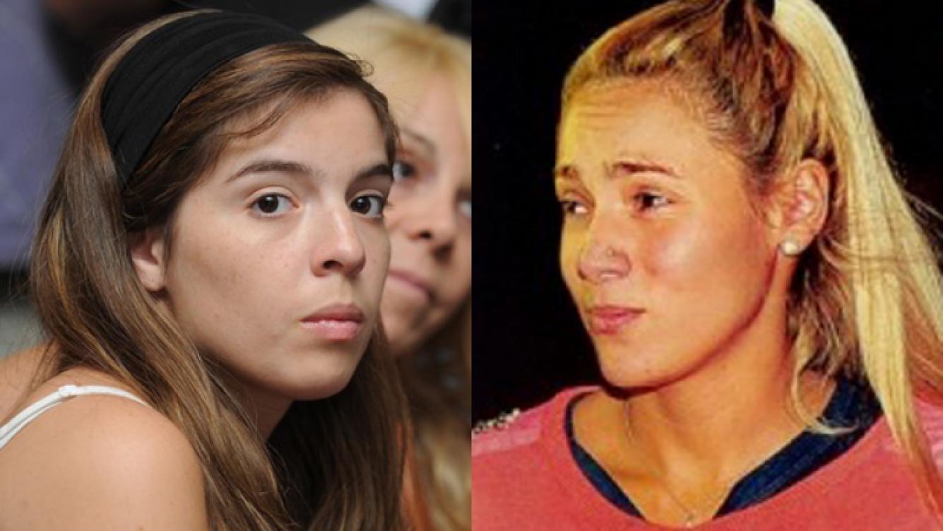 """Dalma Maradona y un """"palito"""" para Rocío Oliva (Foto: Web)."""
