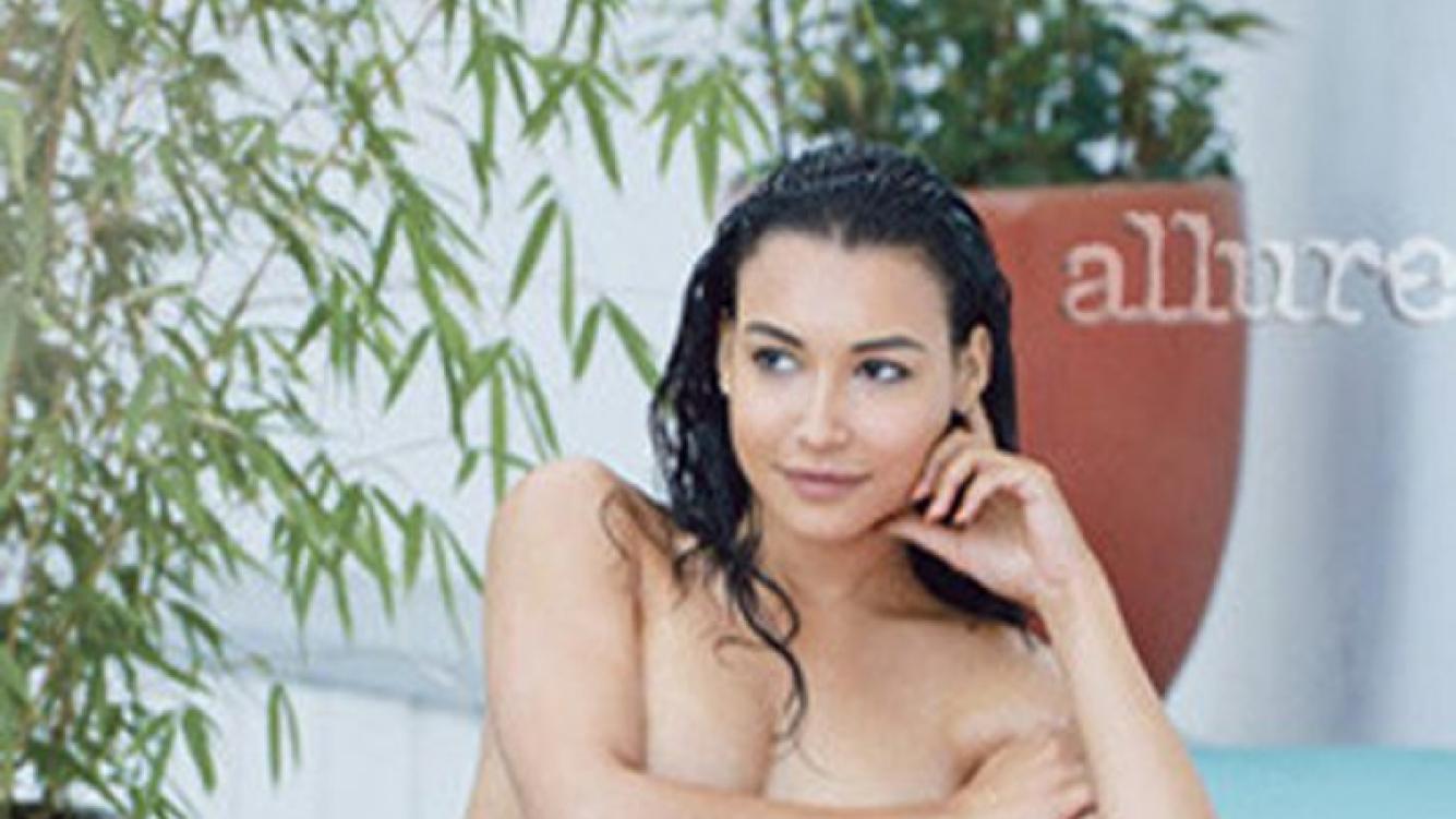 El jugado desnudo de Naya Rivera, la actriz de Glee. (Foto: Web)