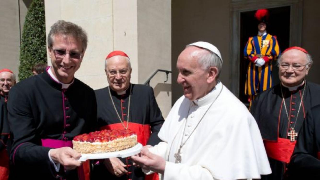 El dulce regalo para el papa Francisco. (Foto: Web)