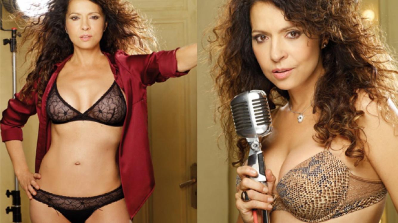 El campaña sexy de lencería de Patricia Sosa. (Foto: Selú)