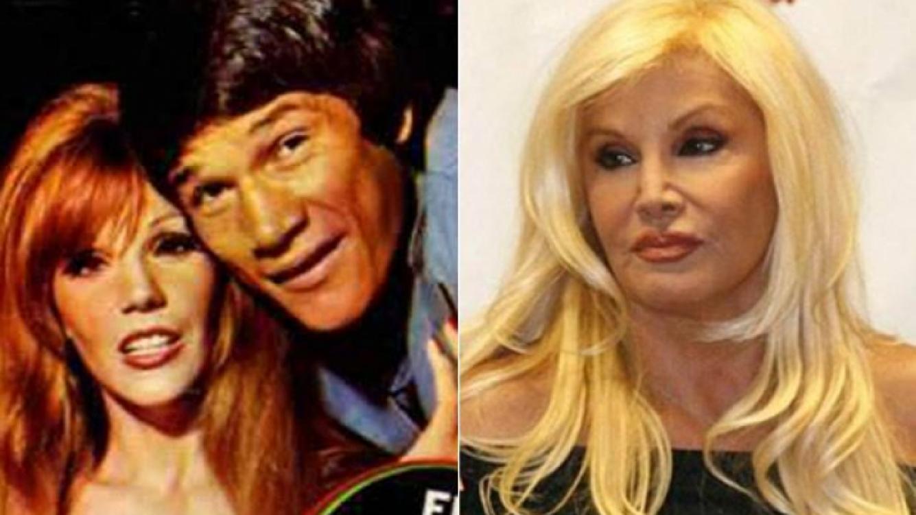 Susana Giménez salió con Carlos Monzón entre 1974 y 1978. (Fotos: Radiolandia y Web)