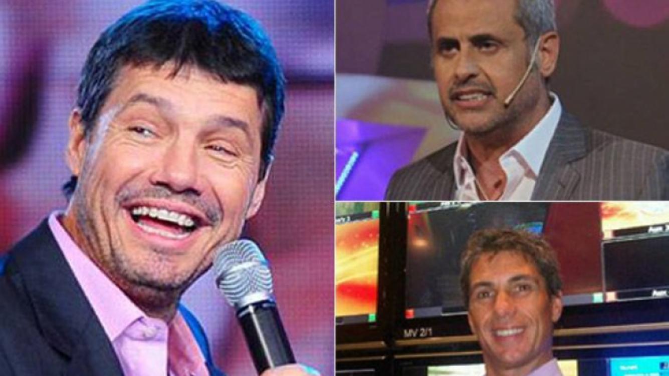 Jorge Rial aseguró que Marcelo Tinelli se queda en El Trece y El Chato Prada habló del tema. (Fotos: Web)