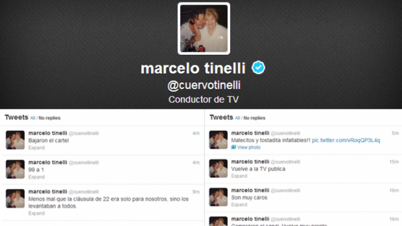 Los enigmáticos tweets de Marcelo Tinelli (Foto: Web).
