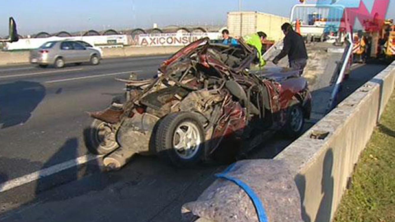 El hijo de Bárbara Durand, involucrado en un accidente fatal con tres muertos (Foto: TN.com.ar)