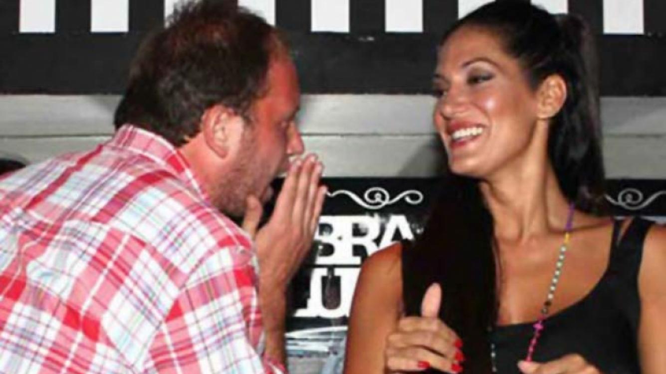 """Nicolás """"Cayetano"""" Cajg y Silvina Escudero, enamoradísimos. (Foto: archivo Web)"""