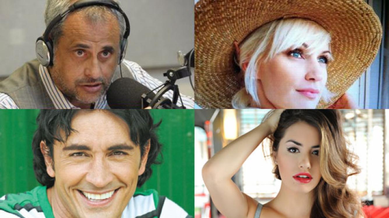 Todos los saludos de los famosos (Fotos: Web).