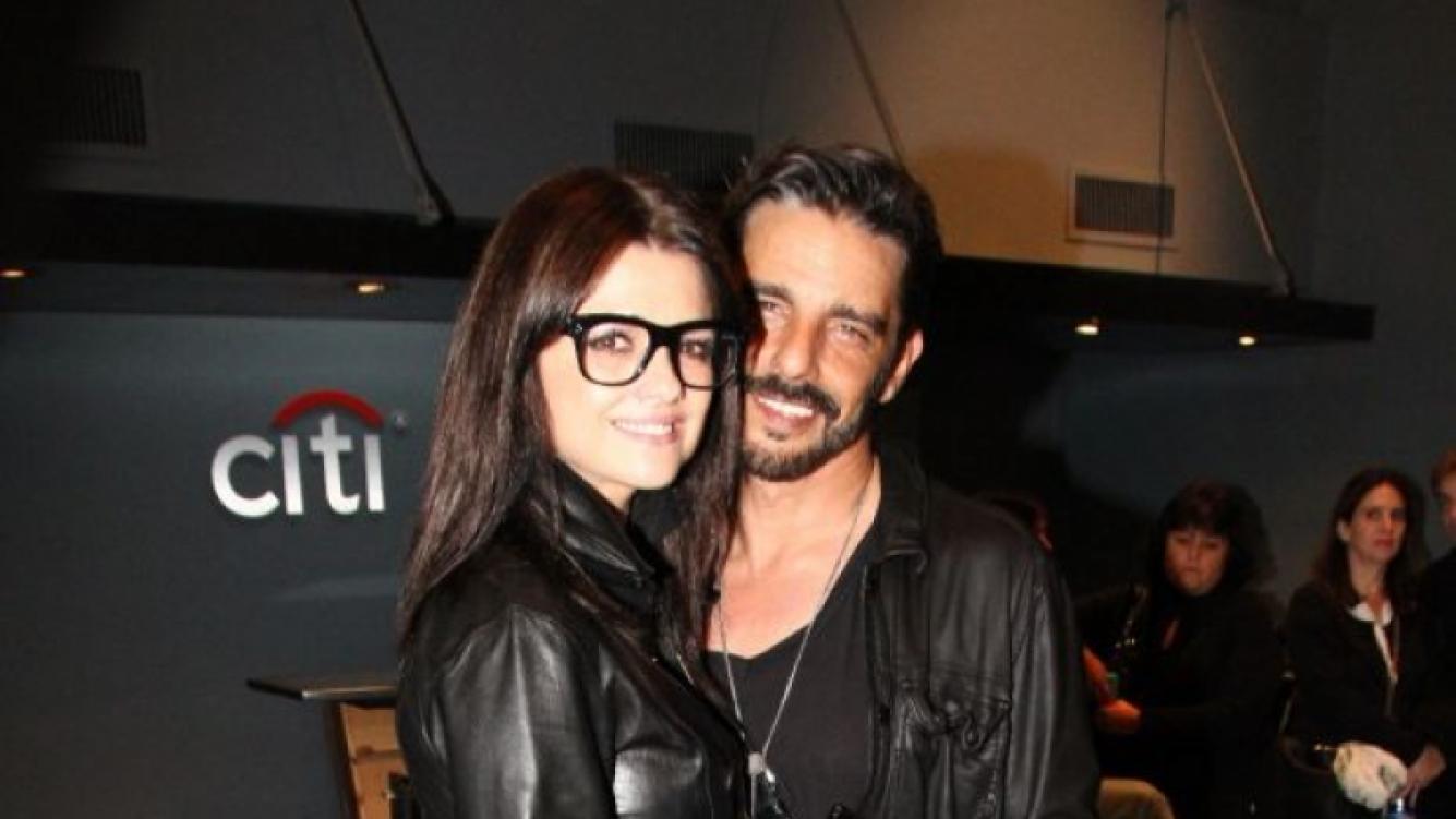 Araceli González y Fabián Mazzei, enamoradísimos (Fotos: Prensa Faroni).