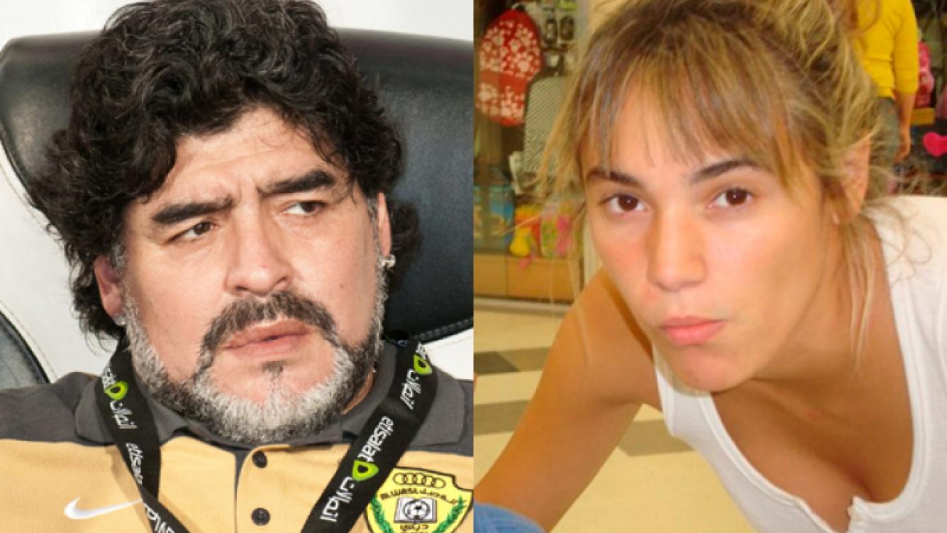 Diego Maradona, separado de Rocío Oliva. (Foto: Web).