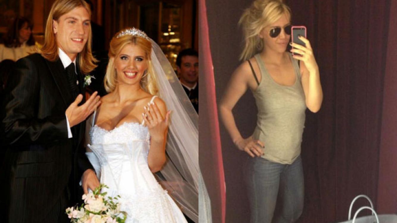 Wanda, en la prueba de su segundo vestido de novia (Fotos Web y