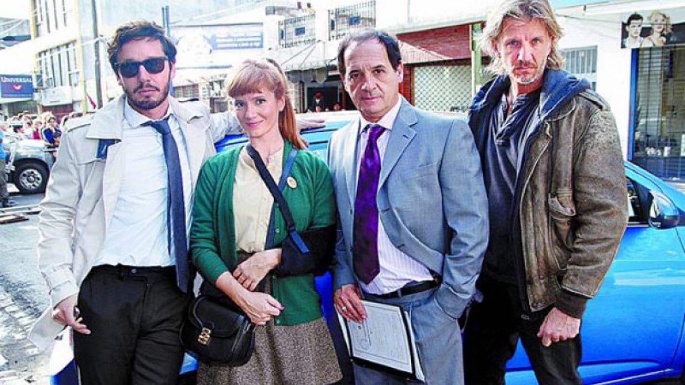 El elenco de Farsantes comenzó con las grabaciones de la ficción (Foto: Clarín.com).