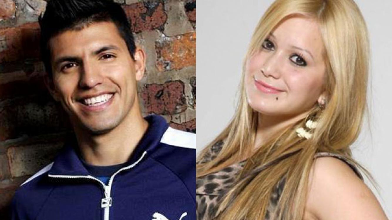 """Sergio """"Kun"""" Agüero y la Princesita Karina están juntos en Inglaterra (Fotos: Web)."""