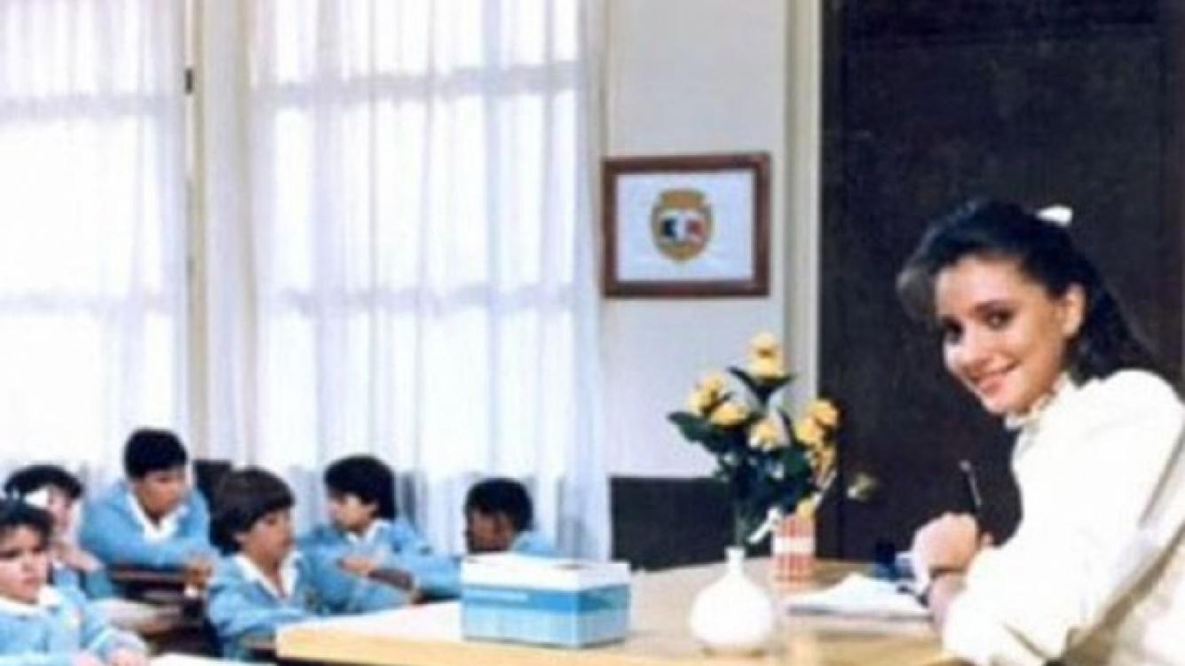 Gaby Rivero, la maestra Jimena de Carrusel, fue expulsada de un programa de televisión por vandalismo
