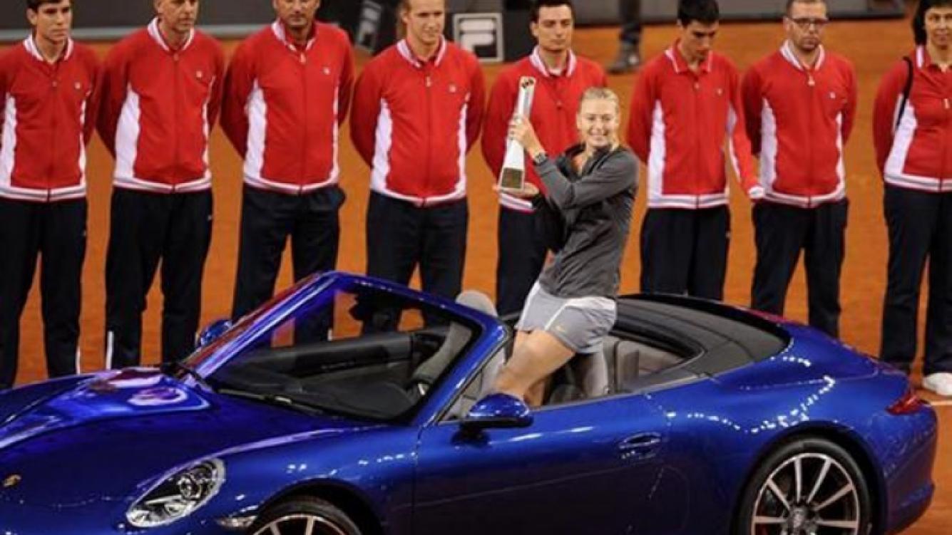 Maria Sharapova le regaló un Porsche a su nuevo novio. (Foto: Web)