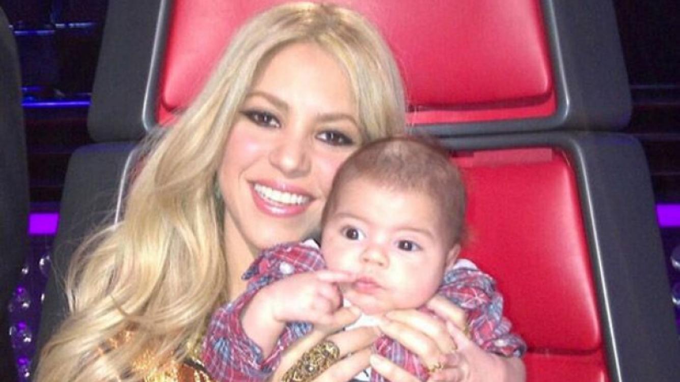 """""""Milan parecía un Shar-Pei cuando me lo entregaron"""", dijo Shakira. (Foto: Web)"""