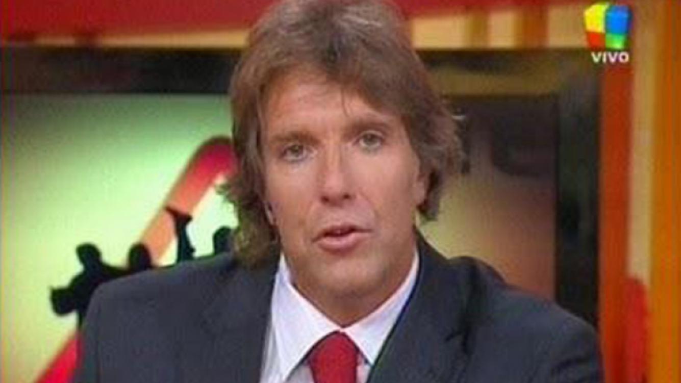 Fantino, en 2010, en los comienzos de Animales Sueltos. (Foto: captura de TV)