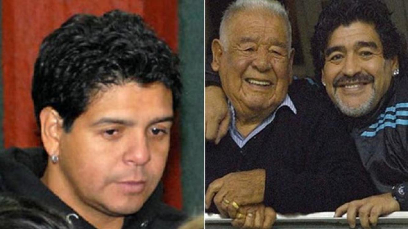 Lalo Maradona habló de la venta de la casa de su padre. (Fotos: archivo Web)