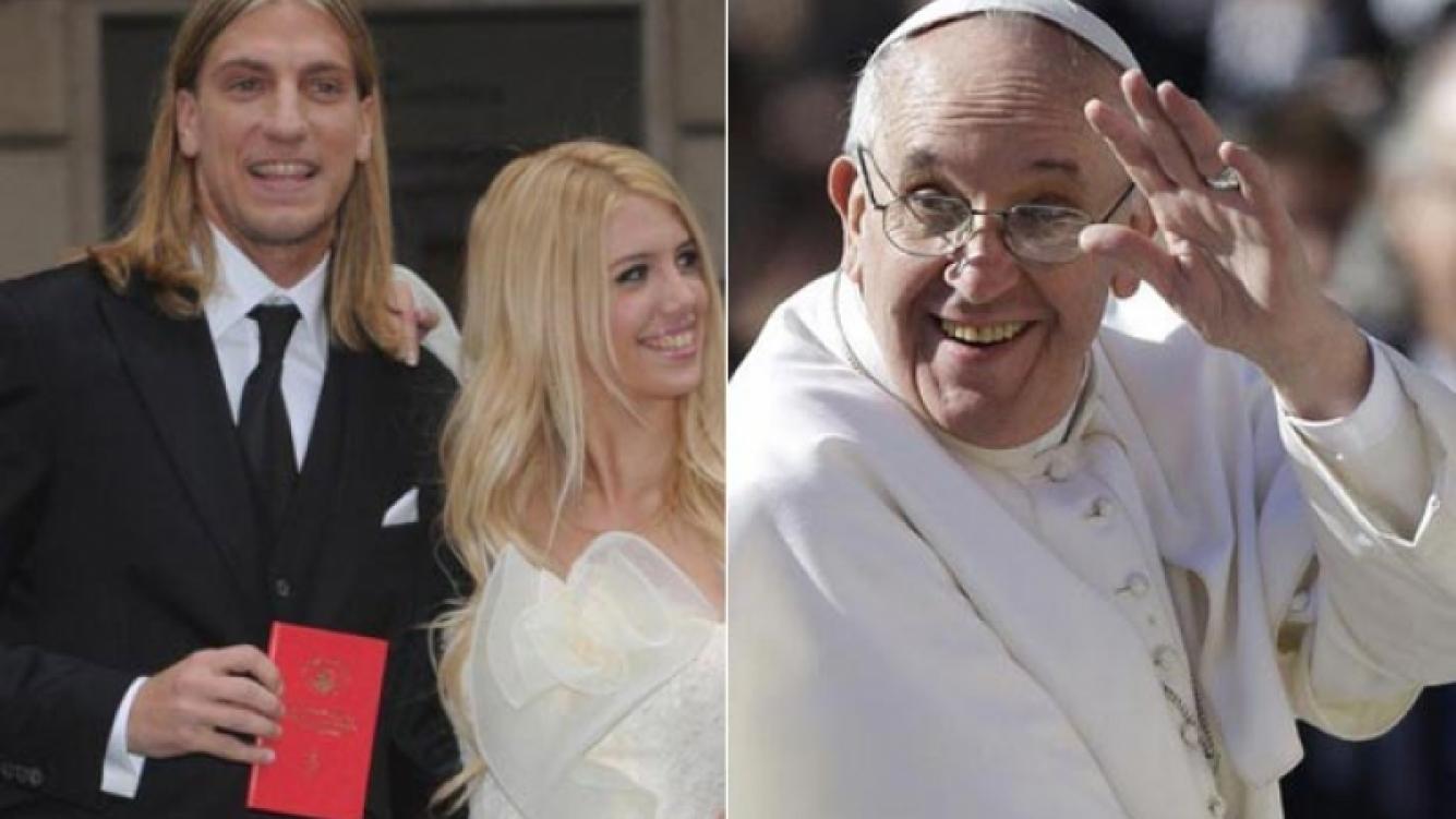 Wanda Nara y Maxi López conocerán al papa Francisco. (Fotos: Web)
