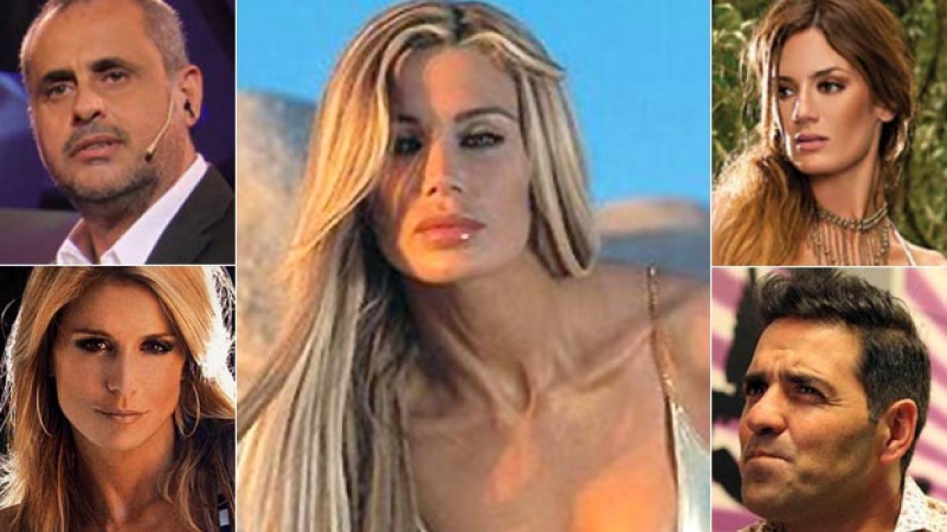 Jorge Rial, Flavia Palmiero, Paula Chaves y Mariano Iúdica, algunos de los famosos que se expresaron en Twitter. (Fotos: Web)