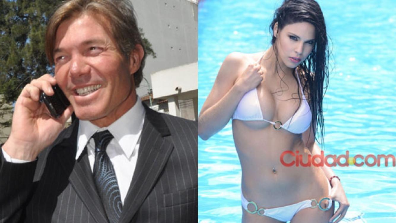 Burlando y Barby Franco se comprometen (Fotos: Web y Archivo Ciudad.com).