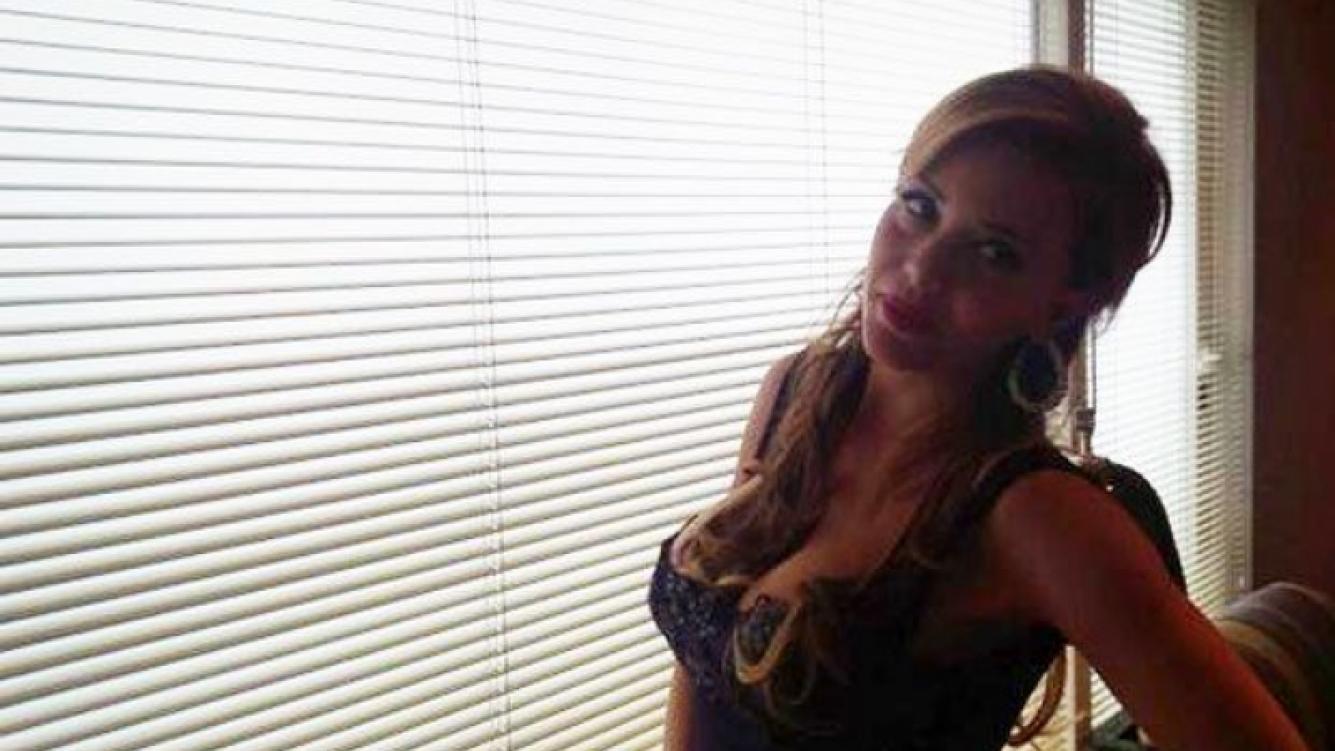 Evangelina Anderson y un sensual back de fotos (Foto: Twitter).