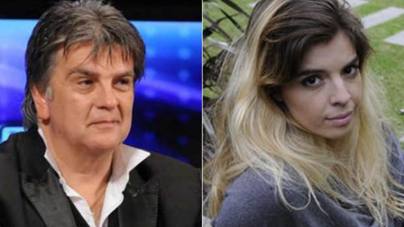 Luis Ventura y Dalma Maradona, nuevamente enfrentados. (Foto: archivo Web)