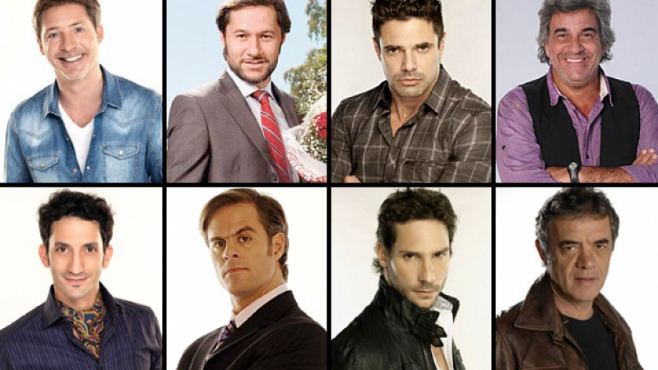 Arriba: Suar, Torres, Castro y Rodríguez. Abajo: Minujín, Amigorena, Valenzuela y Noher. (Fotos: Web)
