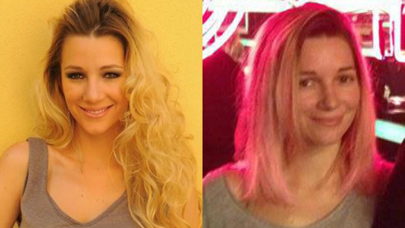 El nuevo look de Micaela Breque: ¡se tiñó las puntas de rosa! (Foto: Twitter)