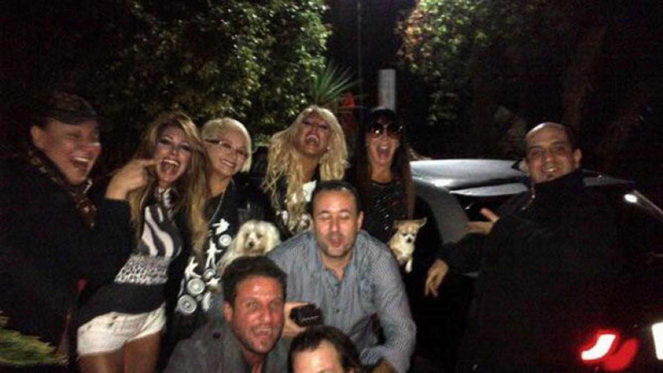 Vicky Xipolitakis y el elenco de Escandalosas, felices con el