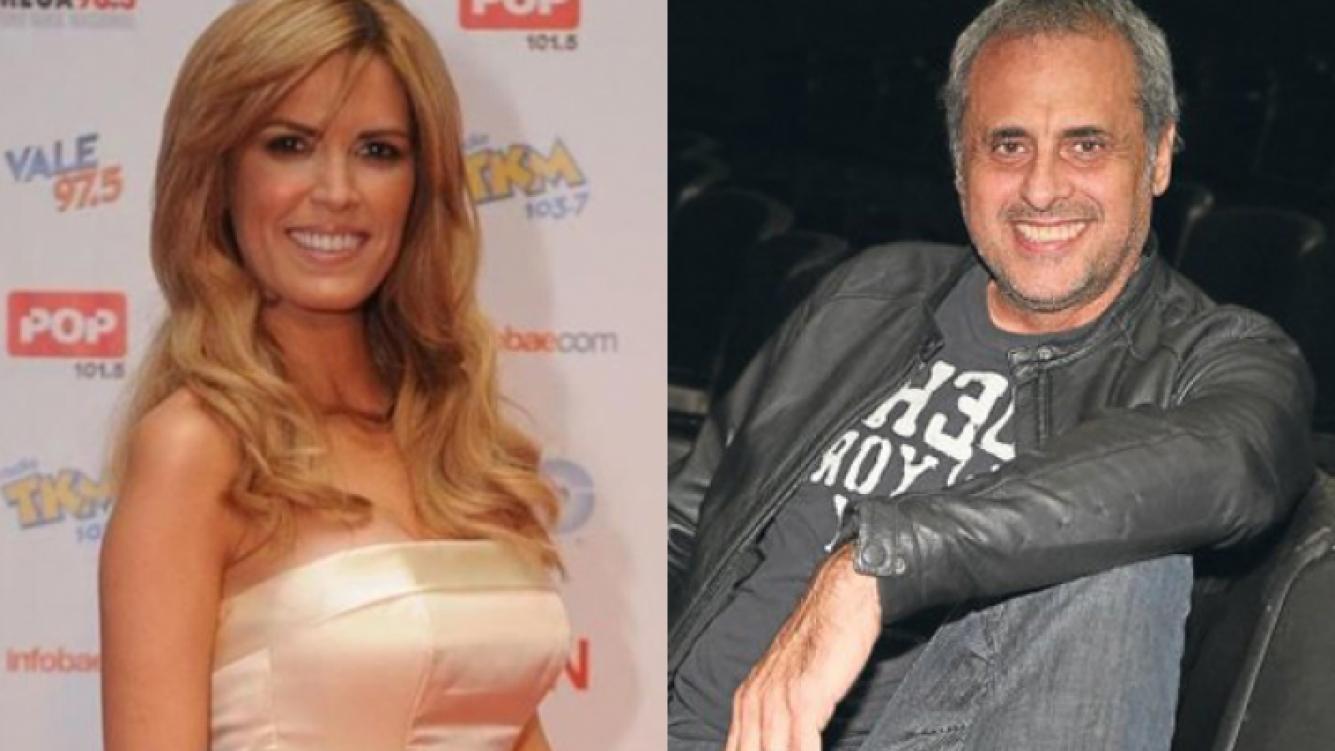 Viviana Canosa y Jorge Rial, cara a cara (Foto: Web).