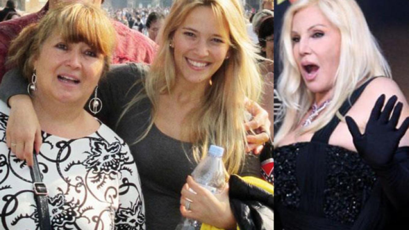 La broma de Luisana a su mamá, Betty. (Foto: Web).