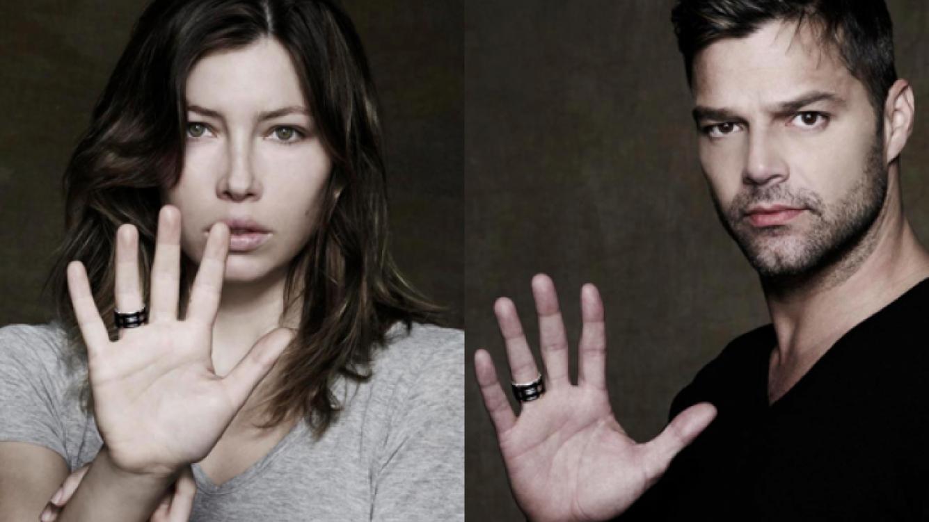 Jessica Biel y Ricky Martin, algunas de las celebrities que apoyan la causa (Foto: Web).