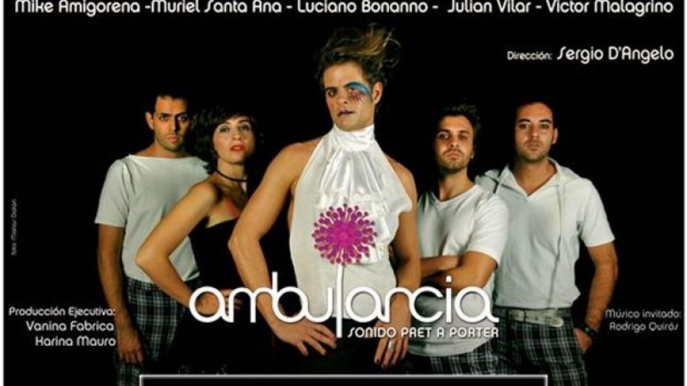 Ambulancia, el grupo de Muriel Santa Ana, Julián Vilar y Mike Amigorena. (Foto: Web)