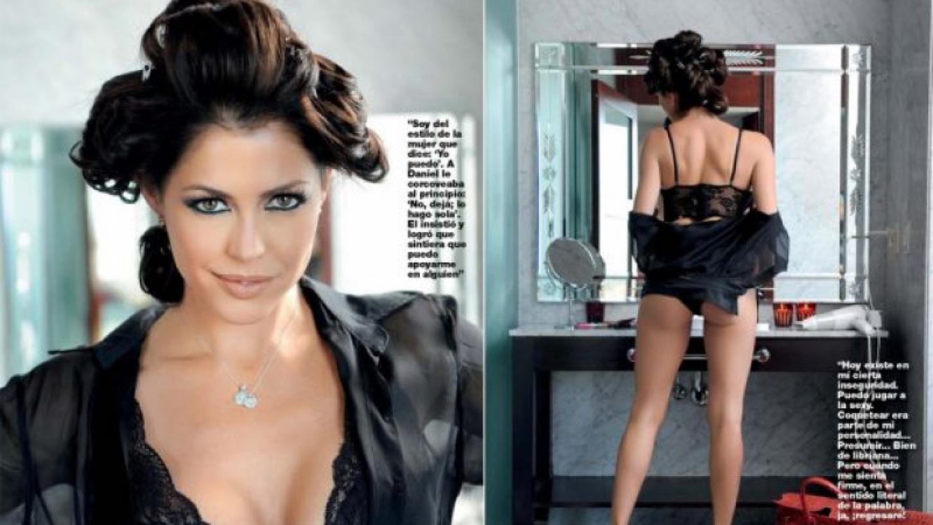 Pamela David, muy sexy para la revista Gente.