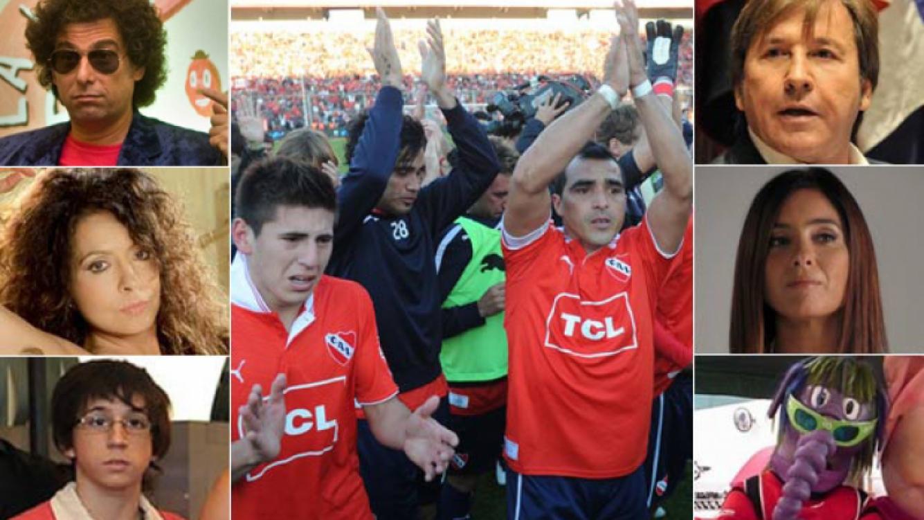 IZQ: Calamaro, Patricia Sosa y Rodrigo Noya. DER: Montaner, Florencia Etcheves y Oso Arturo. (Fotos: diario Olé y Web)