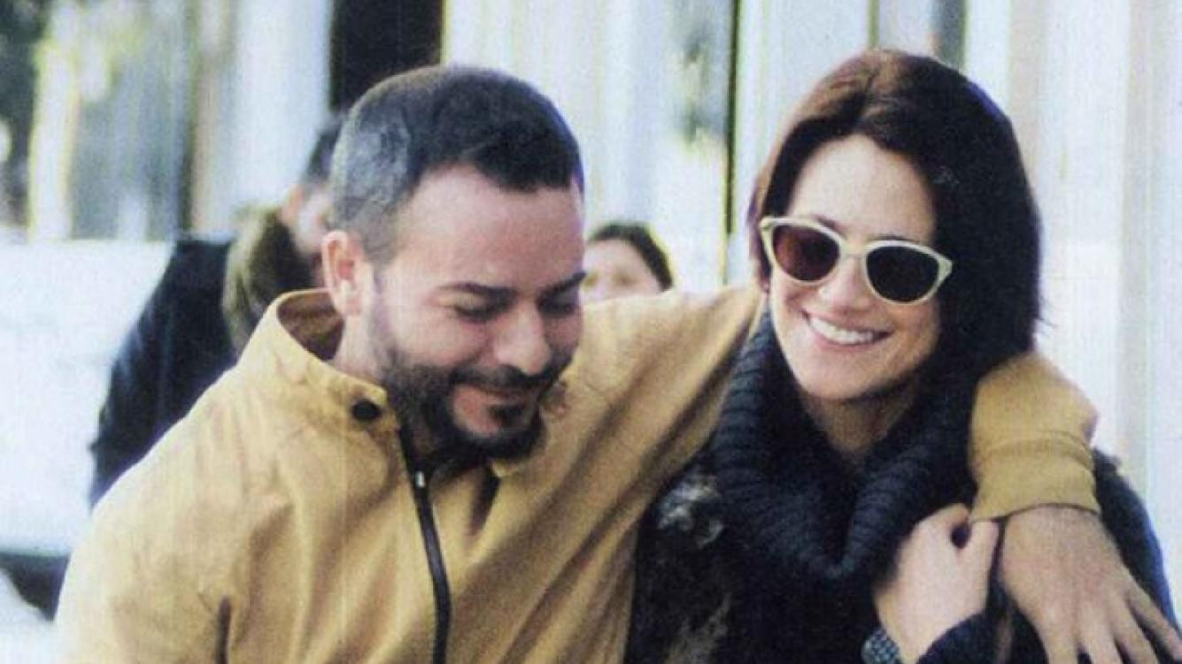 Antonópulos, paseando muy acaramelada por Palermo (Foto: revista Caras).