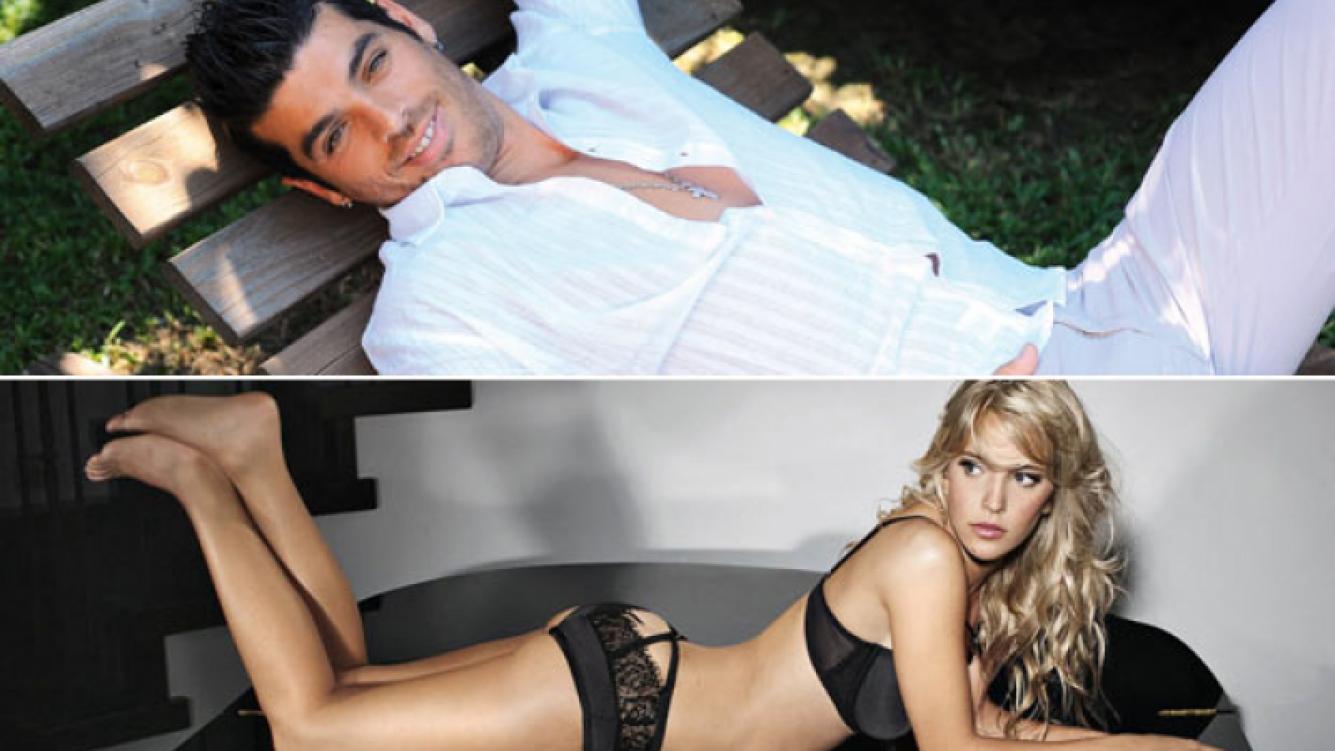 """Cristian U. dice que sólo saldría con una famosa """"si es una bomba como Luisana Lopilato"""". (Fotos: archivo Ciudad.com y Web)"""